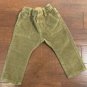Zara baby velvet pants